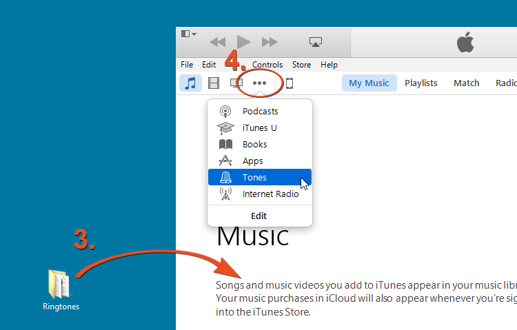 iTunes Tutorial Step 2