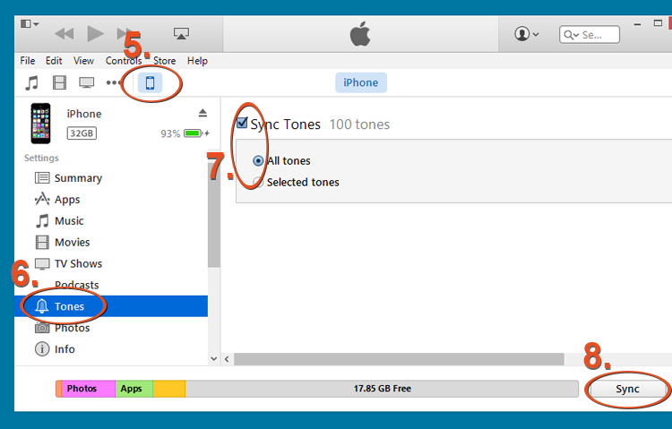 iTunes Tutorial Step 3
